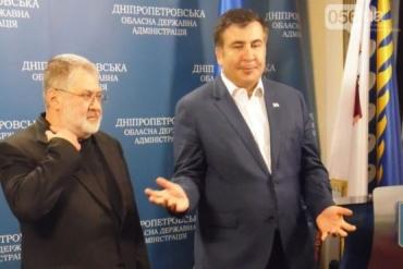 Коломойский рассказал, как давал деньги Михеилу Саакашвили