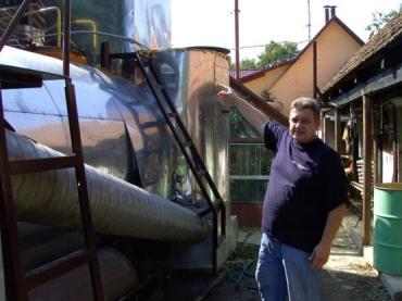 В свою биогазовую установку Иван Герхард вложил более 2000 баксов