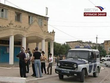 В Дагестане снайперы обстреливают милиционеров
