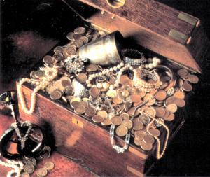 Гитлеровцы спрятали сокровища, награбленные в оккупированной Европе
