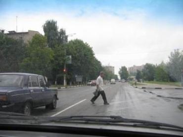 На Закарпатье пешеходы попадают в ДТП