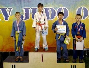 Ужгородцы привезли с турнира две серебряные и две бронзовые медали