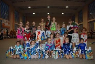 На международном турнире по художественной гимнастике в Мукачево