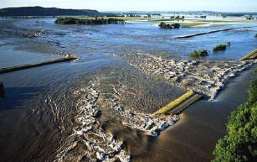 В Венгрии со стороны Австрии ожидается наводнение