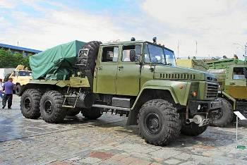 Боевая машина для ведения точного залпового реактивного огня БМ-21 К