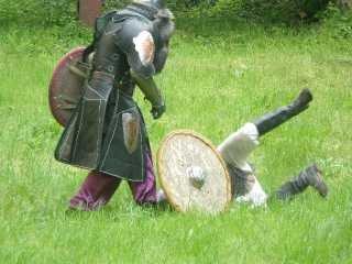 Театрализованный средневековый рыцарский турнир прошел в Ужгородском замке Закарпатья