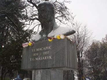 Пам'ятник Т.Г. Масарику в Ужгороді