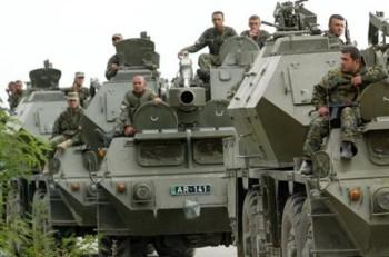 На улицы Тбилиси выведены танки