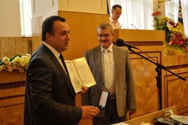 Володимир Чубірко і Василь Губаль привітали медиків краю
