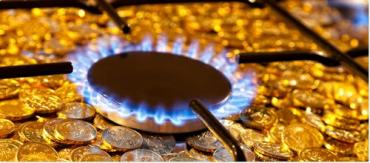 Цены на природный газ для населения - 3,6 гривен/куб. м и 7,2 гривен/куб. м