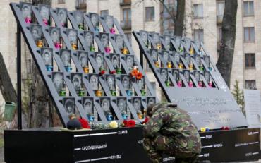 Вандали познущалися над пам'яттю героя Небесної сотні