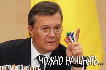 Янукович ответил на вопросы журналистов в Ростове-на-Дону
