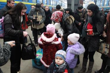 На территории России находится около миллиона граждан Украины