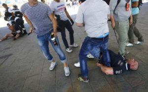 В Сети была опубликована видеозапись столкновения