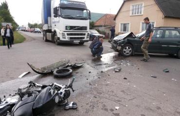 По словам очевидцев, мотоцикл мчался на бешеной скорости