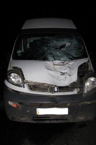 Внаслідок ДТП у Хустському районі загинув пішохід