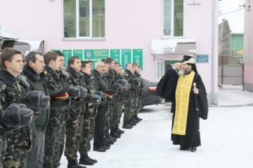 Новорічний молебень в Мукачівському військовому ліцеї