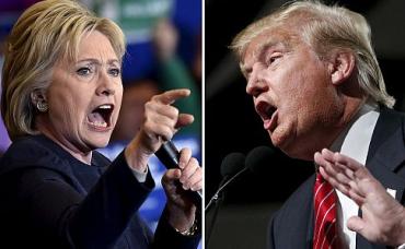 Клинтон поддержали 57% опрошенных, республиканца Дональда Трампа – 34%