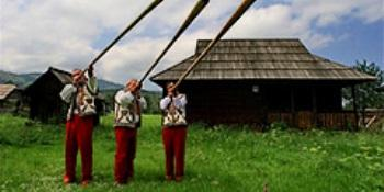 "Фестиваль ""Гуцульская брынза"" в Закарпатье"