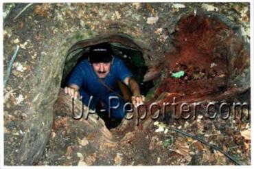 На Закарпатті в печері знаходиться храм