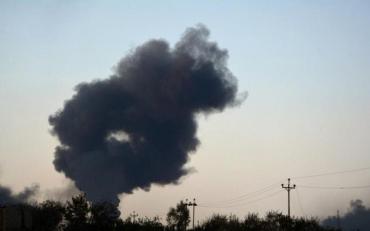 В Харківській області впав літак