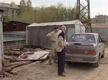 Юзин не обнаружил ни автомобиля, ни гаража...