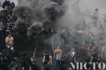 У Івано-Франківську відбувалсь масова бійка між фанами футбольних команд