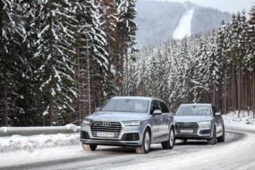 Audi quattro Experience Bukovel