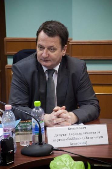 """Бейла Ковач, депутат Европарламента от партии """"Йоббик"""""""