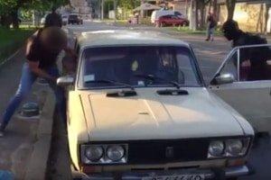 Сотрудники СБУ инсценировали расстрел автомобиля одесского адвоката