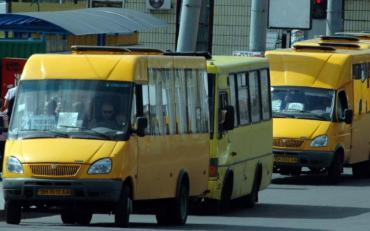 В Одесі прямо на ходу розвалилася маршрутка