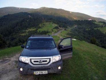 Закарпатские полонины – родная стихия для джипа Honda Pilot