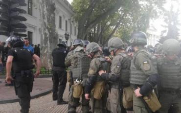 """Одеську мерію штурмували """"активісти"""""""