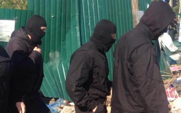 Київські спортсмени відбили свій клуб у тітушек