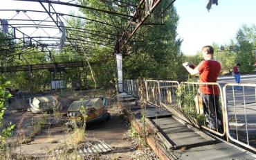 Польські туристи похазяйнували в Прип'яті