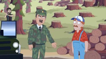 """Авторы """"Двести с Дмитрийом Пасульовым"""" затронули тему незаконной вырубки леса"""