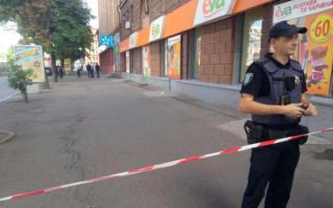 У центрі Дніпра вибухнув автомобіль. За кермом автомобіля була 27-річна жінка