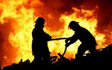У місті Керч анексованого Росією Криму спалахнула масштабна пожежа