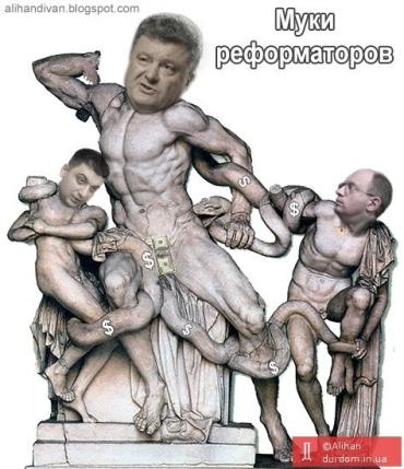 Влада Порошенко-Гройсмана-Яценюка