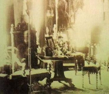 Призрак в кресле лорда Комбермера