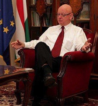 Чрезвычайный и Полномочный Посол Венгрии в Украине Михаль Баер