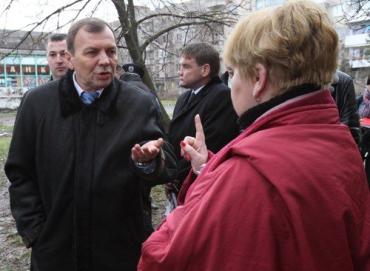Віктор Погорєлов проводить традиційний об'їзд міста