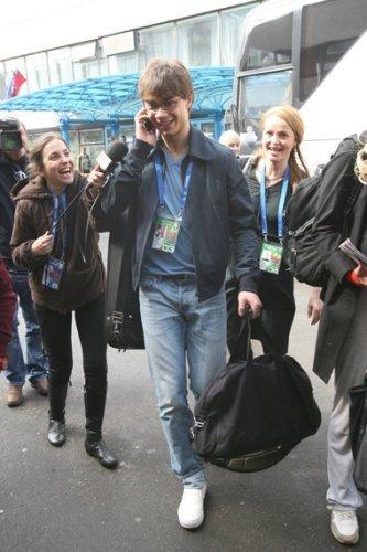 Рыбак приезжает на гастроли в Украину