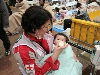 Товариство Червоного Хреста збирає пожертвування пострадалим у Японії