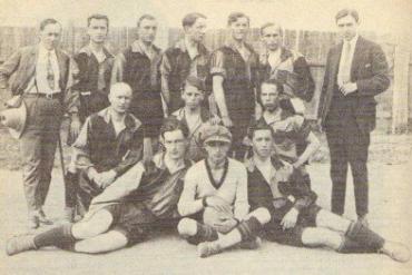 """15 августа 1925 энтузиасты создали новый спортивный клуб """"Русь"""" (Ужгород)."""