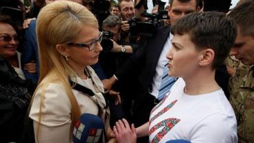 Надежда является красочным лидером, и может стать достойной заменой Тимошенко