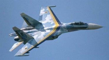 Украинские истребители СУ-27 в американском небе