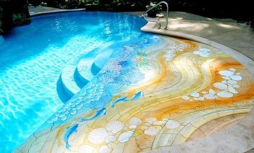 Эксклюзивное оформление бассейнов