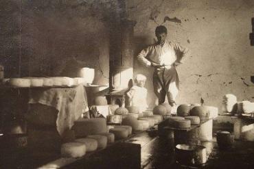 Сыроварня в Колочаве - 1940 год
