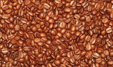 Найди среди кофейных зерен 3 божьих коровок и 3 детских лица